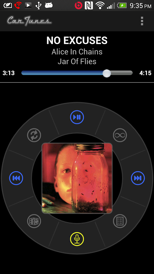 Car Tunes Media Player Pro - screenshot