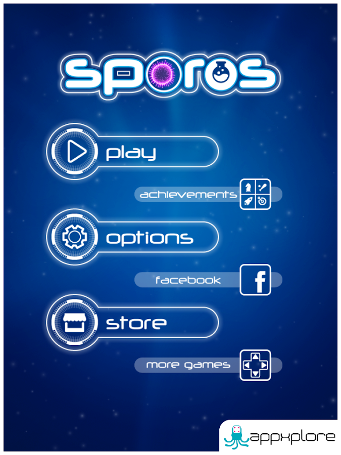 Sporos- screenshot