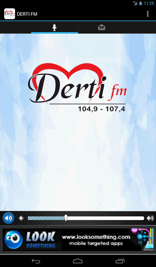 DERTI FM - screenshot