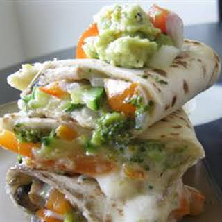 Vegetable Quesadillas.