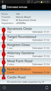 Live London Bus Tracker - screenshot thumbnail