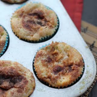 Cinnamon-Apple Cupcakes.