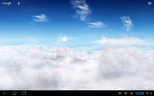 Blue Skies Live Wallpaper- screenshot thumbnail