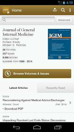 J of General Internal Medicine