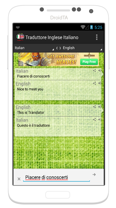 traduttore italiano inglese android apps on google play On traduttore da italiano a inglese