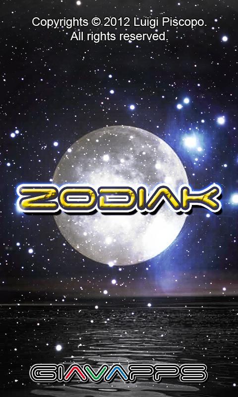 Zodiak- screenshot