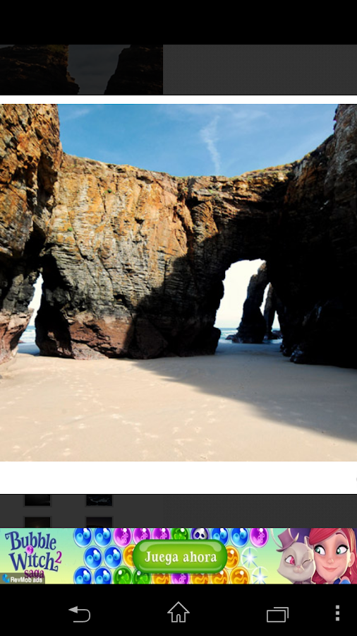 Mareas Playa de Las Catedrales- screenshot