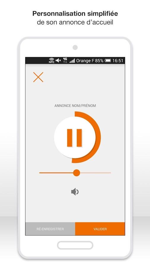 Messagerie vocale visuelle - screenshot