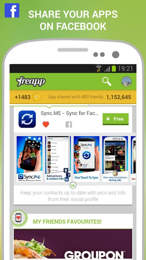 Freapp - Free your Apps! - screenshot