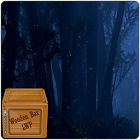 Fireflies Forest Night LWP icon