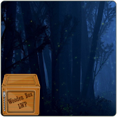 Fireflies Forest Night LWP