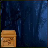 Fireflies Forest Night LWP