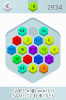 Screenshot of 2048 Hex