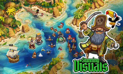 Pirate Legends TD v1.3.15 Mod Money