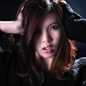 i am by Tim Kek - People Fashion ( fashion, model, girl, people, portrait,  )
