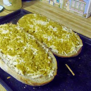 Garlicky Garlic Bread.