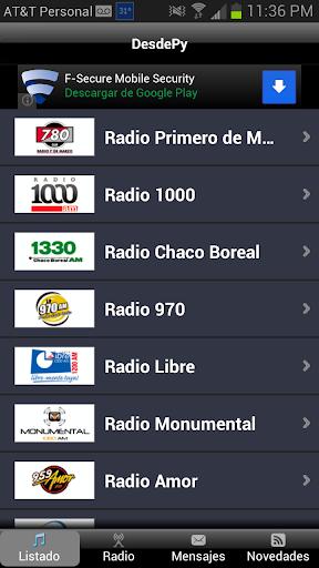 DesdePy Radios de Paraguay