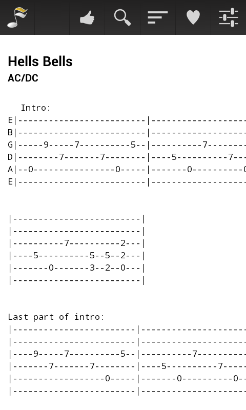 Guitar Tabs - Android Apps on Google Play