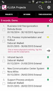 KLUSA Project Management - náhled