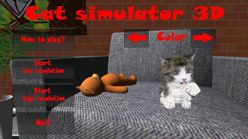 Cat simulator 3D