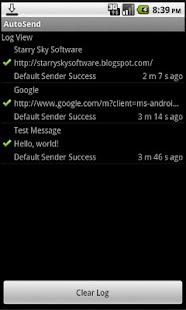 AutoSend- screenshot thumbnail