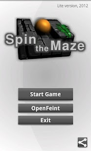 Spin the Maze Lite - screenshot thumbnail