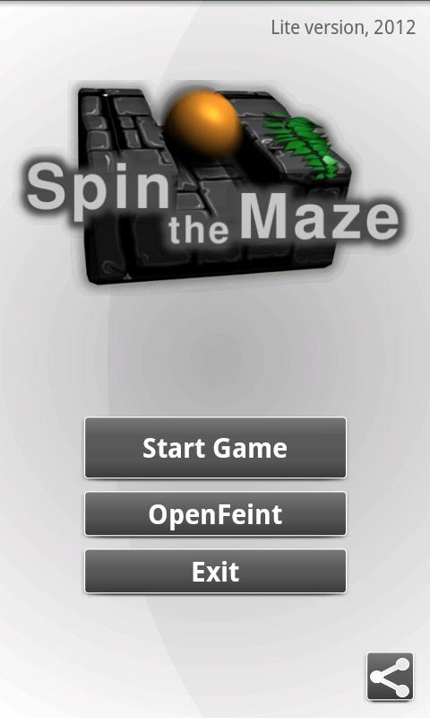 Spin the Maze Lite - screenshot