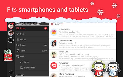 myMail—Free Email Application - screenshot thumbnail