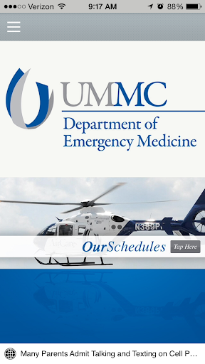Emergency Medicine at UMMC