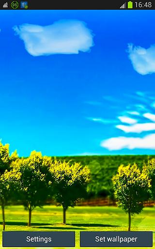 Xperia Sunny Day Wallpaper App