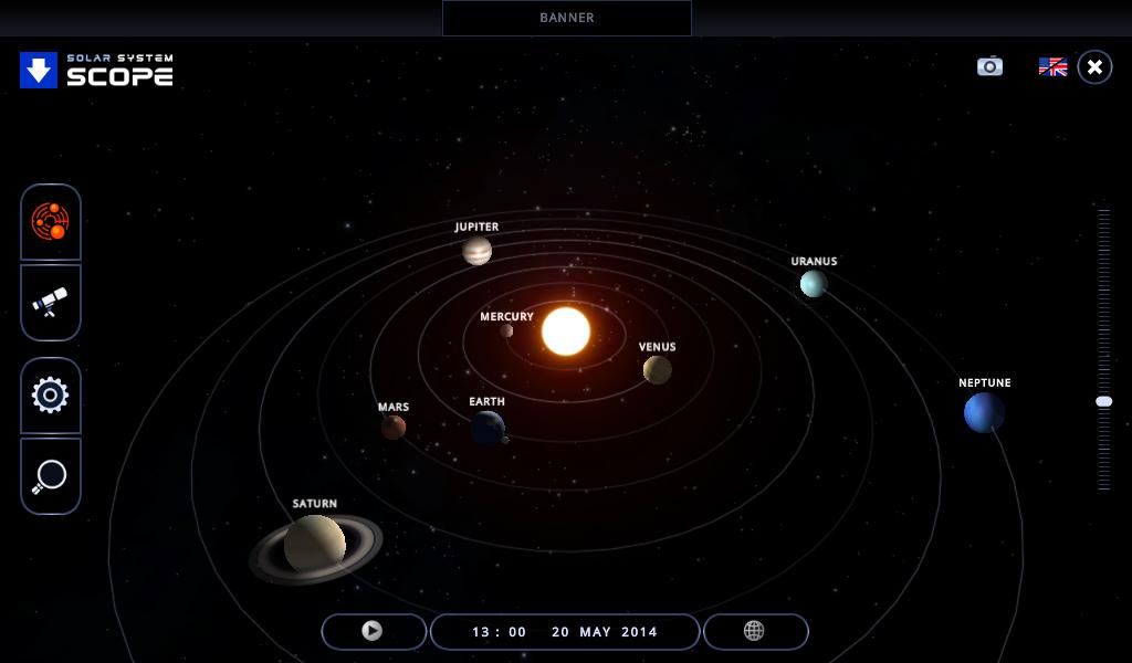 realistic solar system from above - photo #23