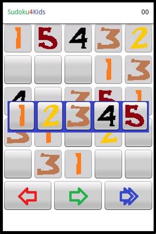 Sudoku4Kids - screenshot