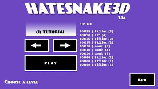 HATESNAKE3D- screenshot thumbnail