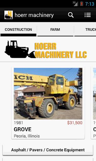 hoerr machinery