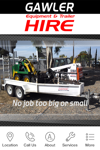 Gawler Equipment Trailer Hire