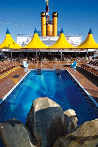 Costa-Deliziosa-Lido-Acqua-Regina-Pool - Lido Acqua Regina, on deck 9 of Costa Deliziosa, one of the ship's two main swimming areas.