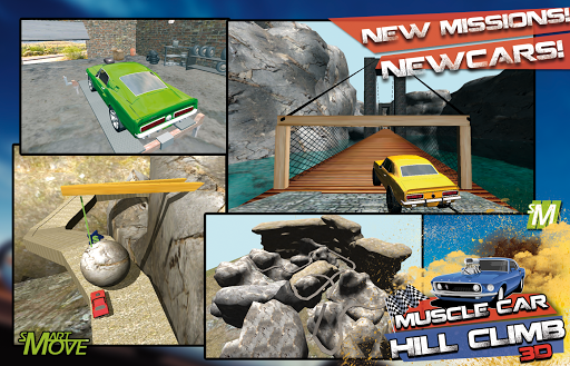 Hill Climb Muscle Cars 3d 2014