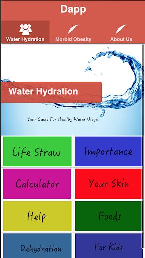 DAPP - Diet And Hydration Guru
