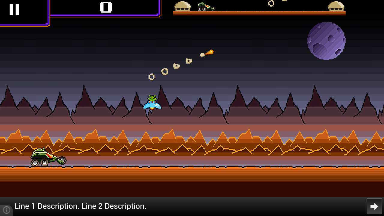 Mars Patrol - Space Shooter- screenshot