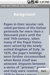 Holy See (Vatican City) Facts