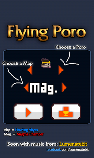 Flying Poro League of Legends