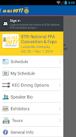 Screenshot of National FFA Convention & Expo