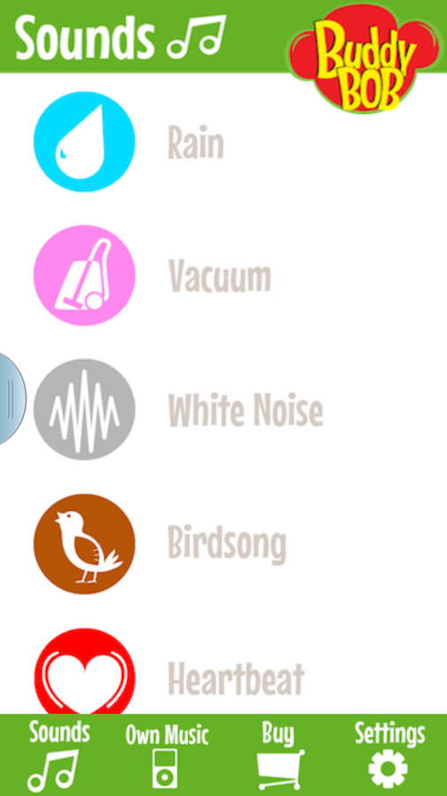 Soothing Sound Buddy Player- screenshot