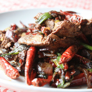 Spicy Stir-Fried Liver and Onions