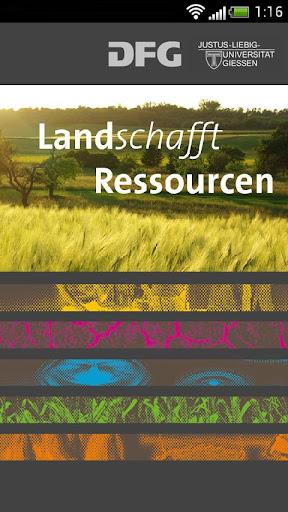 Landschafft Ressourcen DE