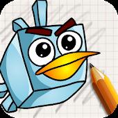 Draw Angry Birts