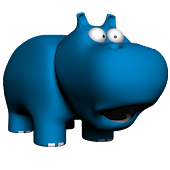 Fool Animal 3d - Free Hippo