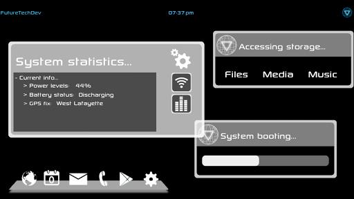 FutureTechUI PDA Skins
