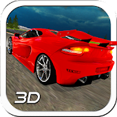 3D Night Track Racer