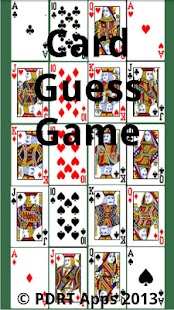 Card Guess - screenshot thumbnail